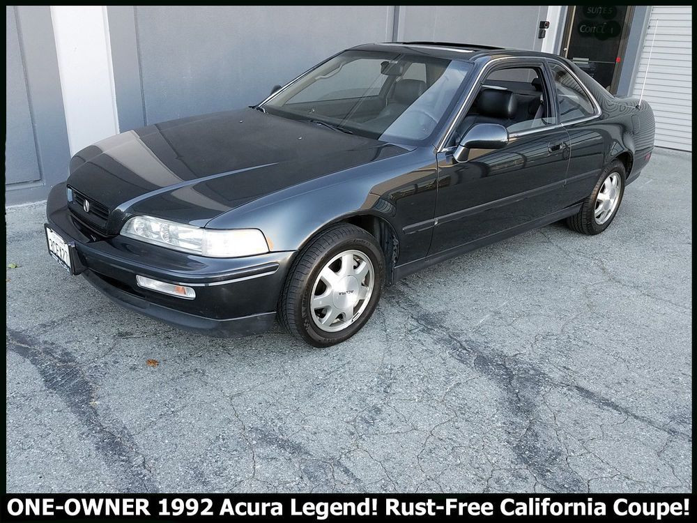 1992 Acura Legend COUPE ONE OWNER ACURA LEGEND RUST FREE CALIFORNIA