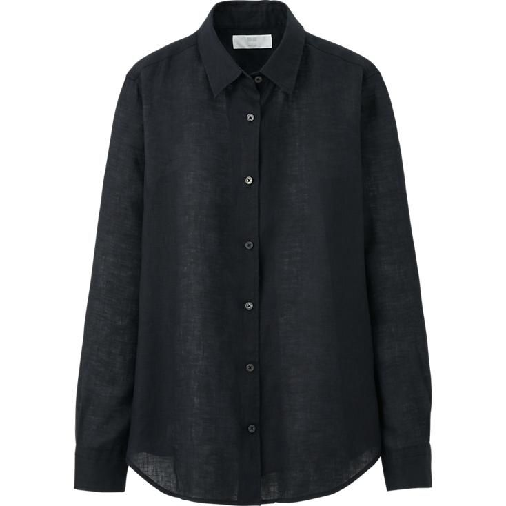 Uniqlo linen - perfect shirt for summer for only $30   #SHOPPING ...