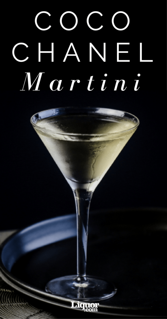 This two-ingredient take on the classic Martini is named for the fashion icon.