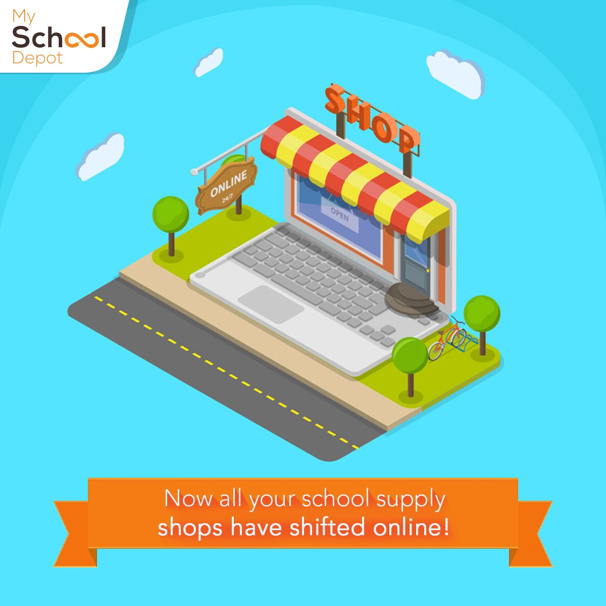 Visit www.myschooldepot.com for a one stop solution to all your ...
