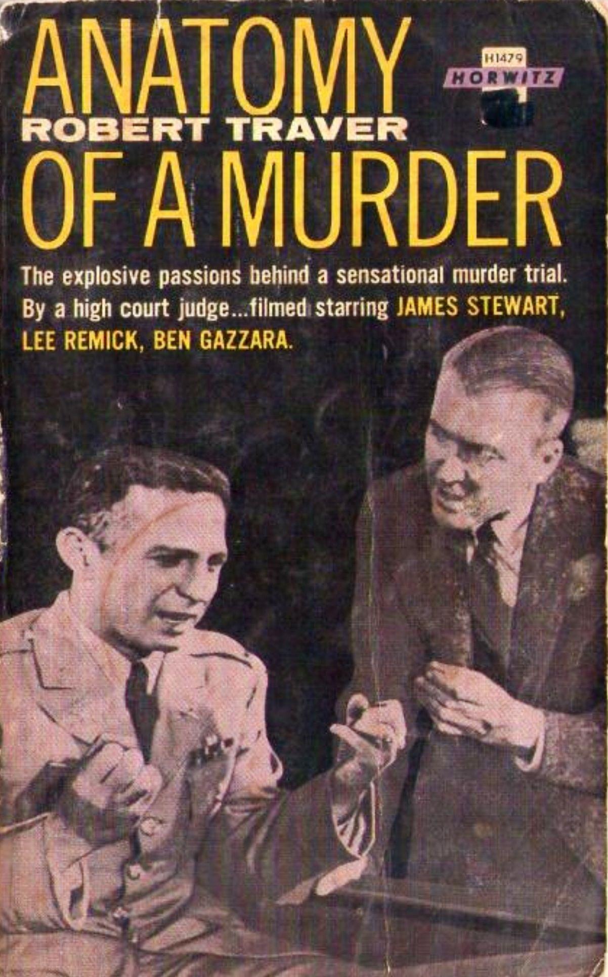 H1479 Anatomy of a Murder Robert Traver 1962   Vintage books ...