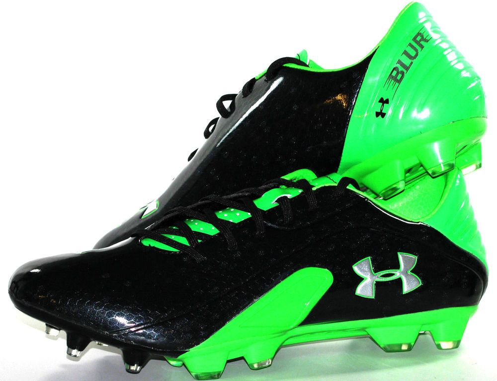 Mens Under Armour Blur III FG Soccer Futbol Cleats/Boots Size 10