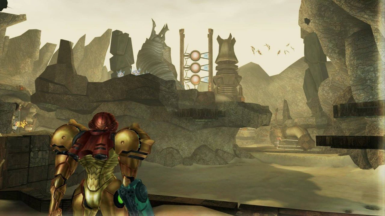 Knowing full well that it would leave fans wondering whats to come Nintendos E3 2017 reveal that Metroid Prime 4 is in development was short but sweet. All we got was a logo and Bill Trinens word that it is due to ship sometime beyond 2017. We are well into 2018 now and theres still nary a word about what the game will look like let alone what studio is currently piecing it together. Assuming that Nintendo makes a big show at this years E3 heres what we hope to find out about the secretive sequel.  What We Know So Far  Nintendo has been pretty quiet about Metroid Prime 4 since the announcement. It was confirmed that Retro Studios the team behind every other mainline Metroid Prime game to date will not be developing the fourth entry. Trinen has said that longtime Nintendo producer Kensuke Tanabe will lead development with a team of talented individuals but their identity thus far remains a mystery.  Metroid Prime 3: Corruption (2007)  Inquisitive fans have discovered hints online however and the current theory is that a Bandai Namco team may be involved with development. Nintendo has of course remained silent in the face of these rumors. At the least Tanabe has said that Prime 4 returns to the first-person adventure roots of the original Metroid Prime game and introduces a new storyline that ties together the events of the Metroid Prime universe and takes the storyline in new directions.  Nintendo found great success collaborating with a third-party team for Metroid: Samus Returns on 3DS last year so despite Retro Studios absence were willing to keep our hopes up for the time being.  Whats Confirmed For E3?  Nintendo hasnt announced anything regarding Metroid Prime 4 appearing at E3 this year but theres a strong chance it will be a part of the publishers annual showcase.  What We Hope To See At E3  Given that Metroid Prime 4 is such a highly anticipated game and that very little is known about it wed honestly love it if Nintendo would open the floodgates and answer t