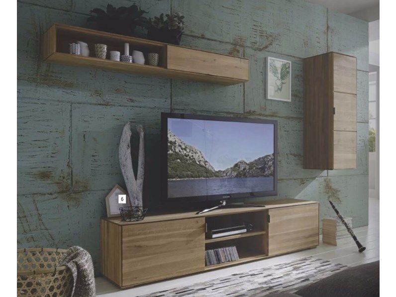 Mobile soggiorno Wood in legno massello sconto -50%   Home ...