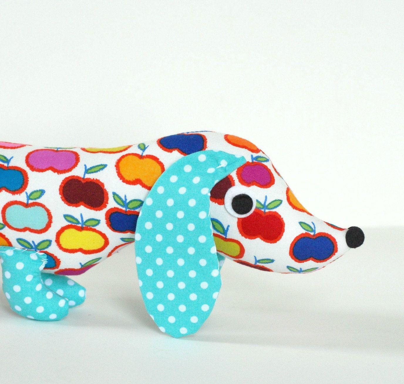 Childrens Toy Stuffed Animal Plush Wiener by FriendsOfSocktopus