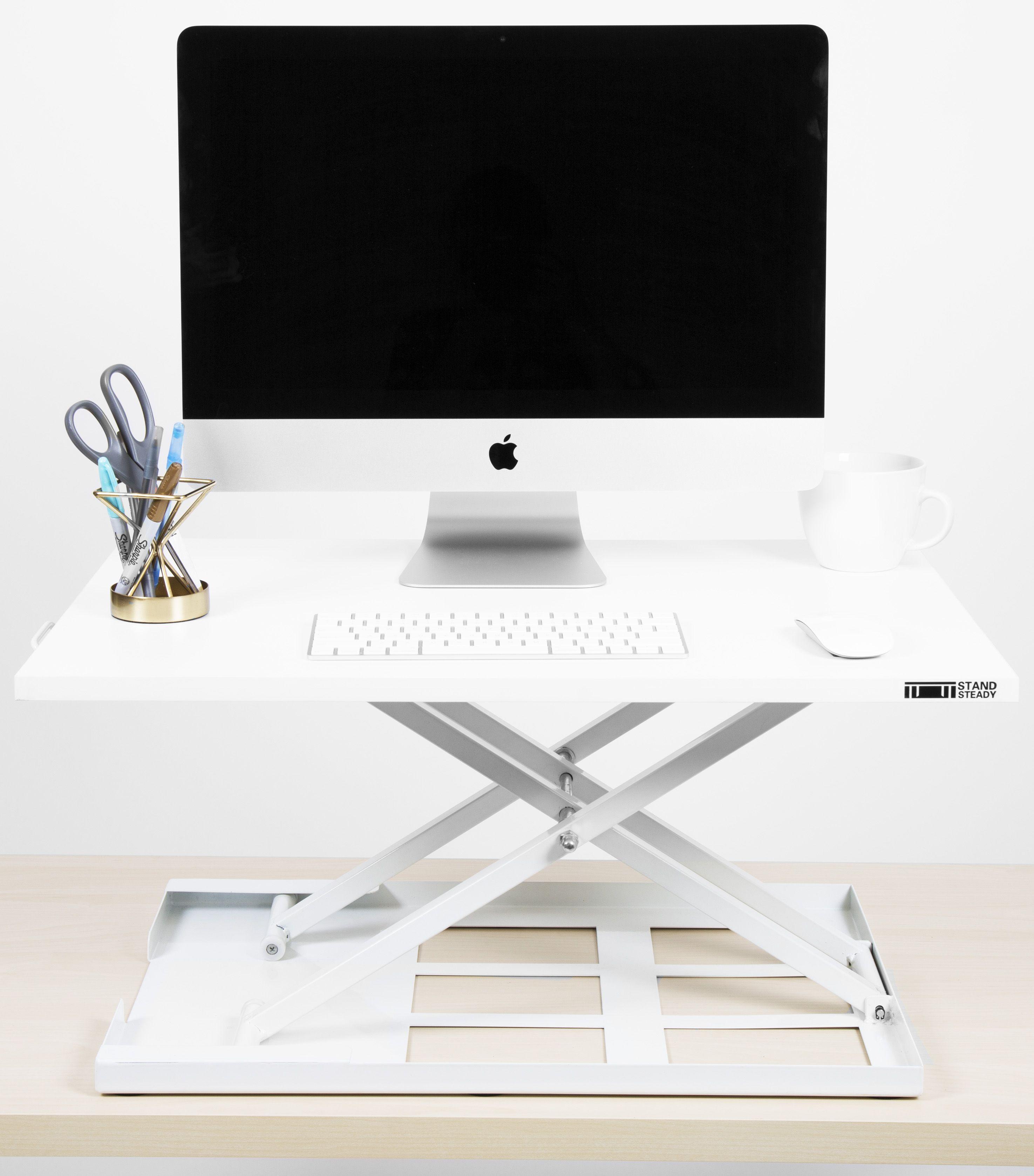 X Elite Pro Standing Desk Converter Desk Adjustable Standing Desk Converter Cubicle Design