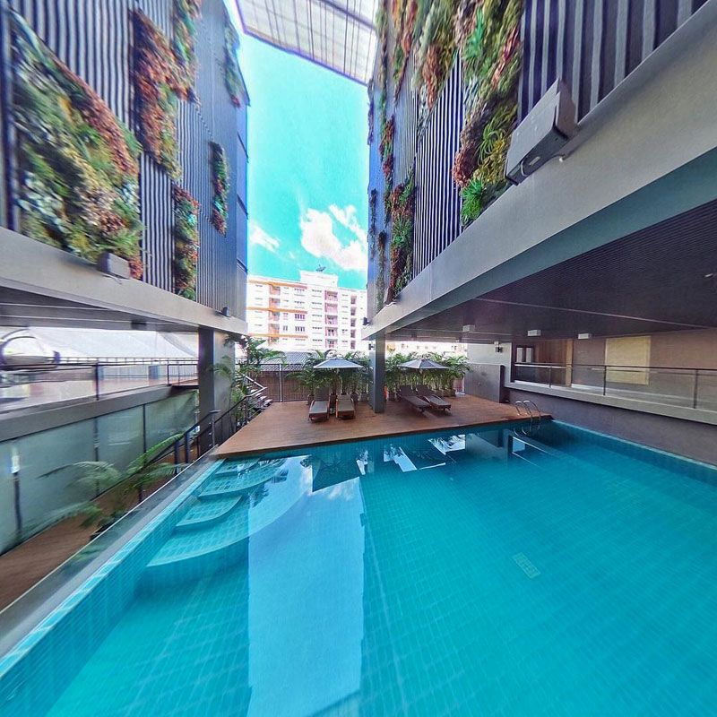 From themed hotel rooms to luxurious serviced apartments