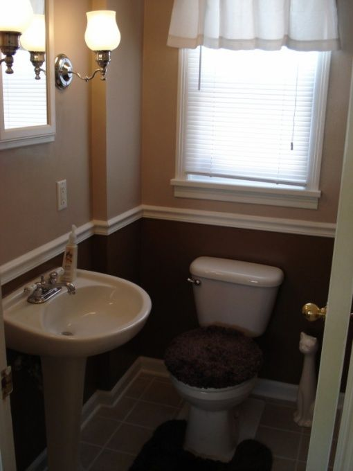 47 Very Small Half Bathroom House Decor Ideas