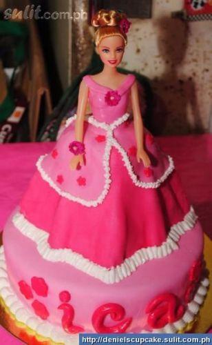 princess theme cupcakes and cakes | Princess / Barbie Theme Cake & Cupcakes For Very Affordable Price ...
