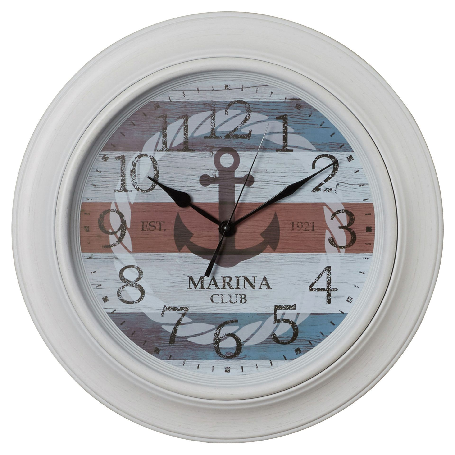 "18"" Nautical Anchor Wall Clock"
