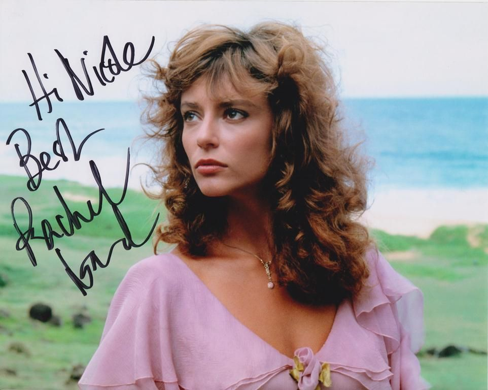 rachel ward on the beach