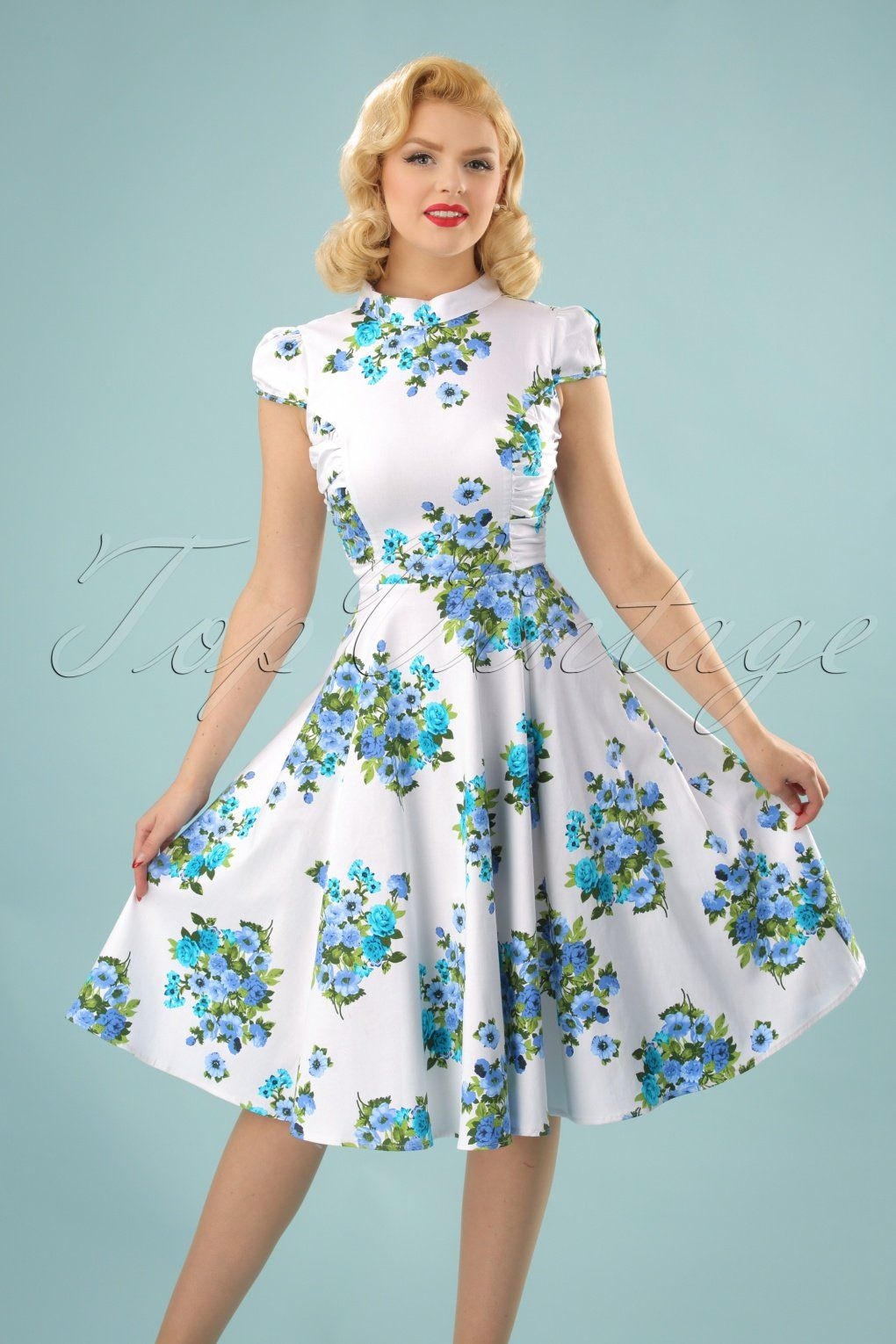 This 60s Sadie Floral Swing Dress Is Just As Pleasant As A Nice Summer Breeze This Vintage Style Swing Floral Swing Dress Swing Dress Beautiful Summer Dresses [ 1530 x 1020 Pixel ]