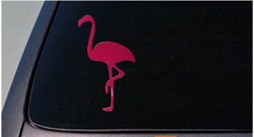Flamingo sticker decal vinyl 6 Inch *D655* EZ-STIK http://www.amazon.com/dp/B00I5UG4KC/ref=cm_sw_r_pi_dp_4j8qwb1MSYSVV