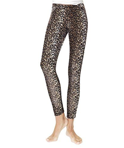 7baf97ecf2 MeMoi Full Length Sexy Vivacious Leopard Leggings