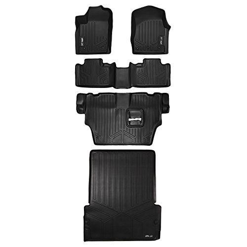 Maxfloormat Floor Mats 3 Row Set Bench Seats And Maxtray For Dodge Durango Behind Second Row 2013 Car Interior Design Dodge Durango Interior Car Interior