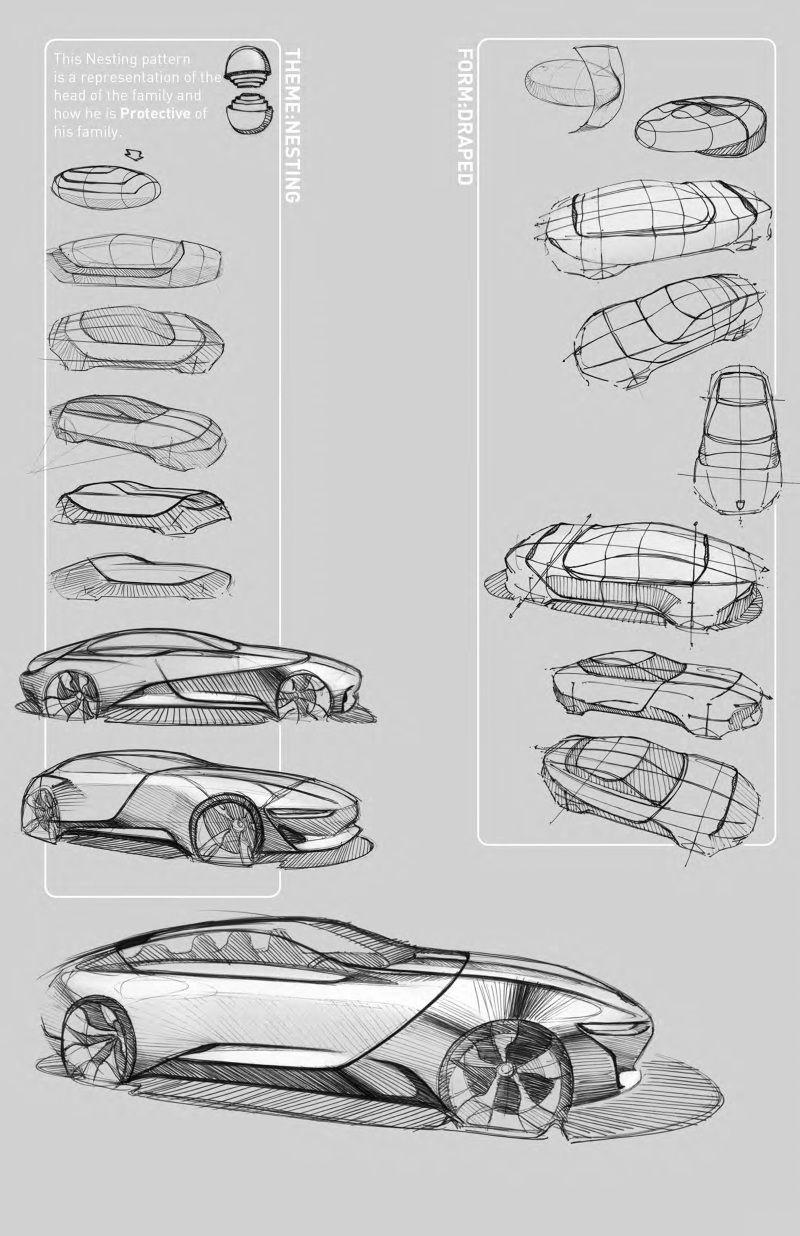 Porsche Luis Jimenez Risunki Iskusstvo Dizajn