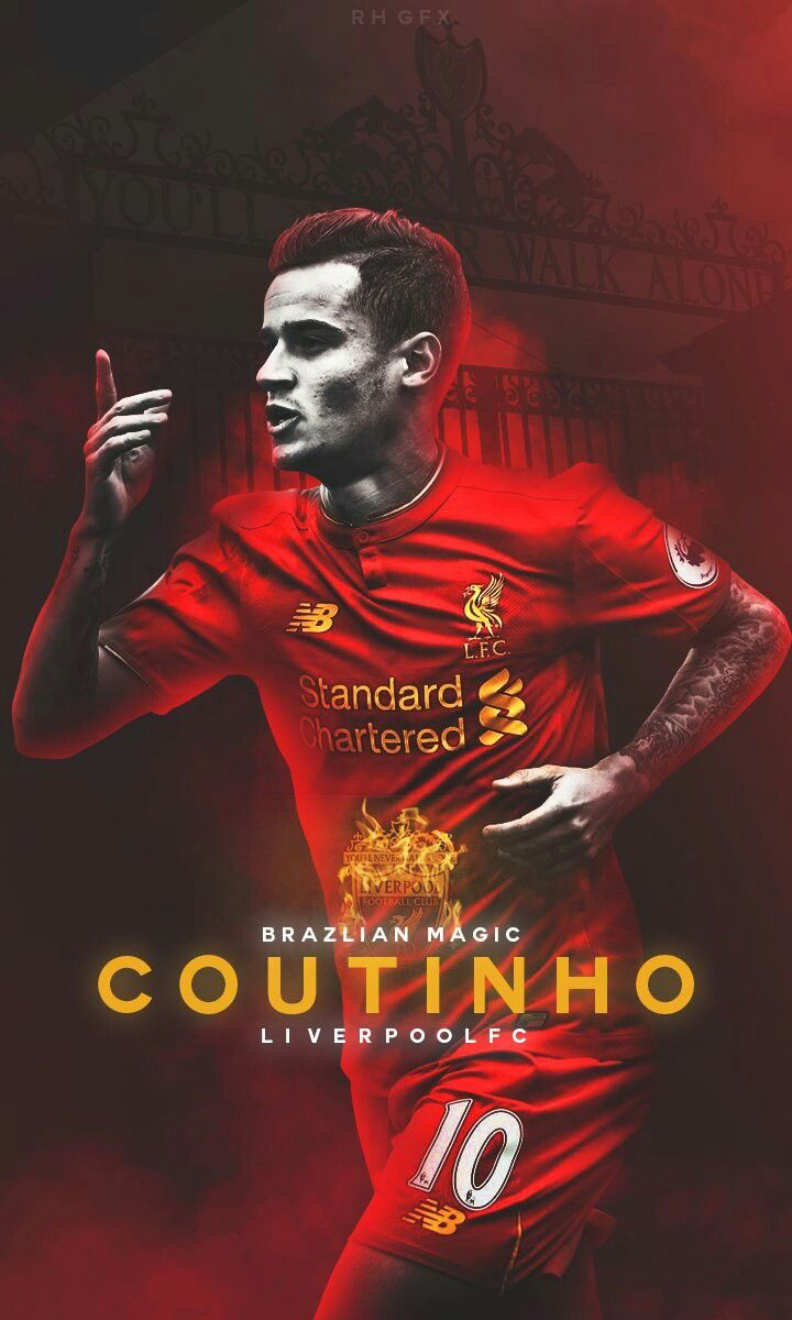 Design your own t shirt liverpool - Philippe Coutinho Liverpool