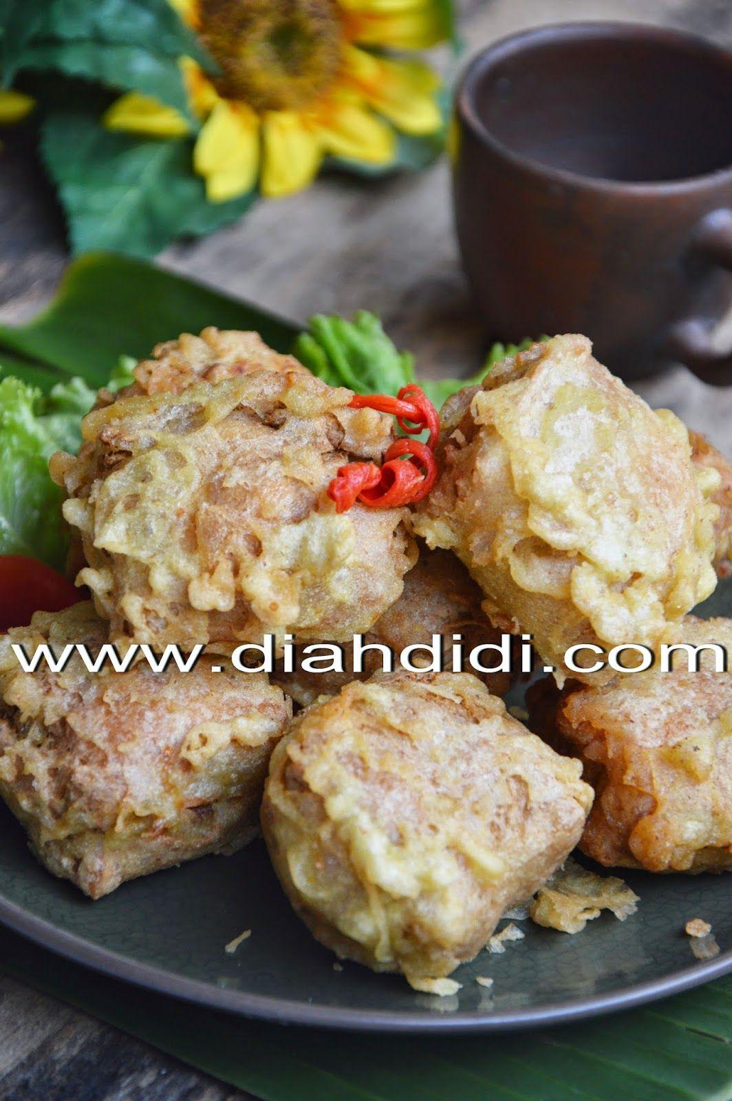 Tahu Berontak Isi Rebung Ayam Dan Udang Resep Masakan Makanan Dan Minuman Resep Tahu