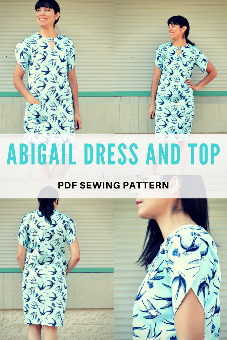 NEW PATTERN FOR SALE: The fully graded Top and Dress Pattern