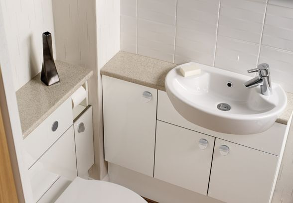 Ikon Gloss White | Ellis Furniture - Bathrooms | Pinterest ...