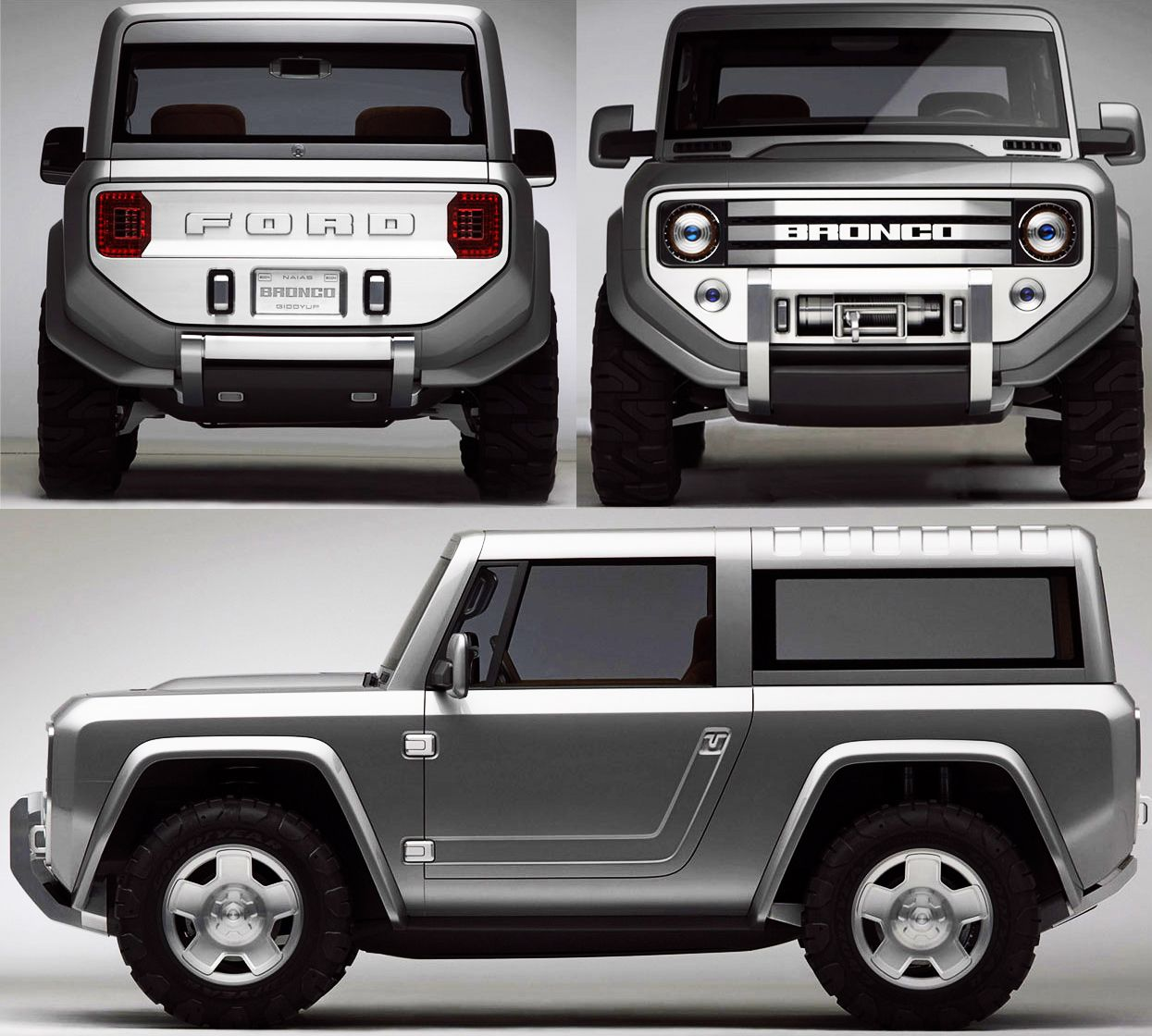 FORD - Bronco Concept 2004