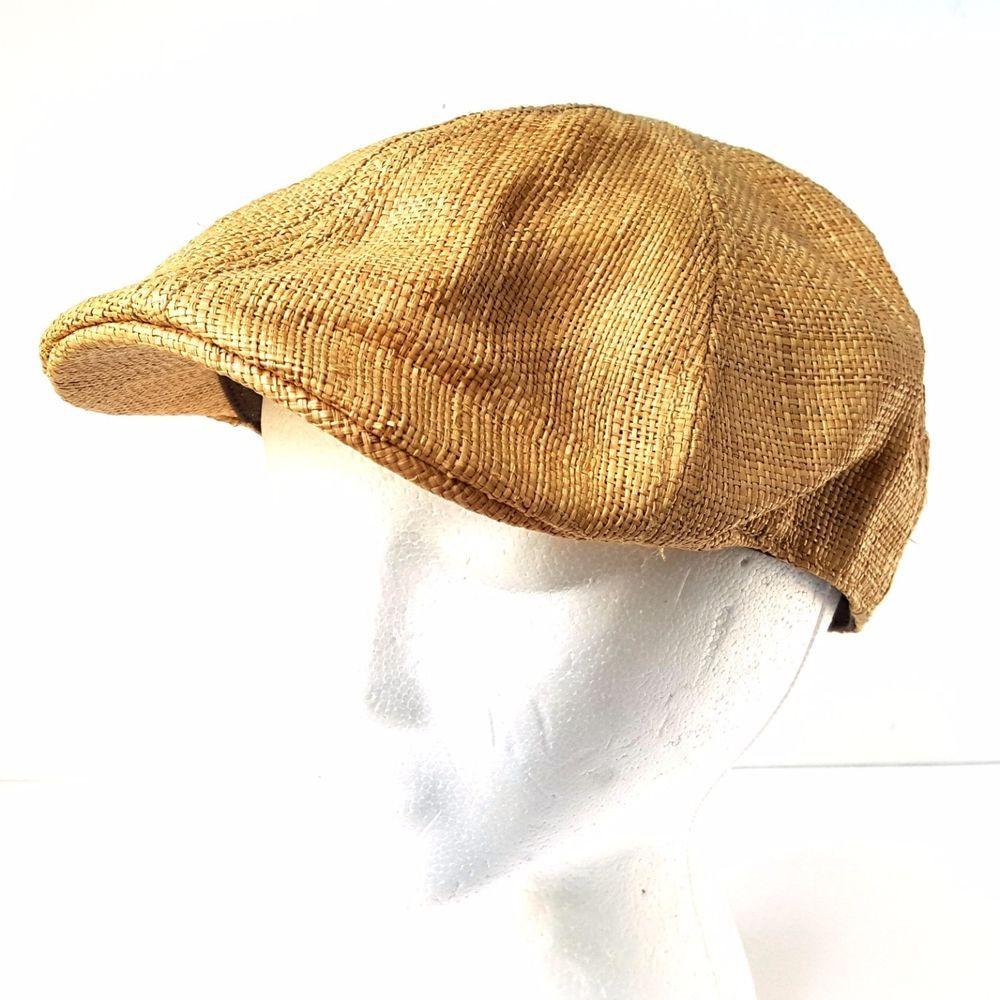 7c2d00c1 Scala Classico Straw Raffia Newsboy Golf Driving Driver Gatsby Hat Cap  Medium #Scala #NewsboyCabbie