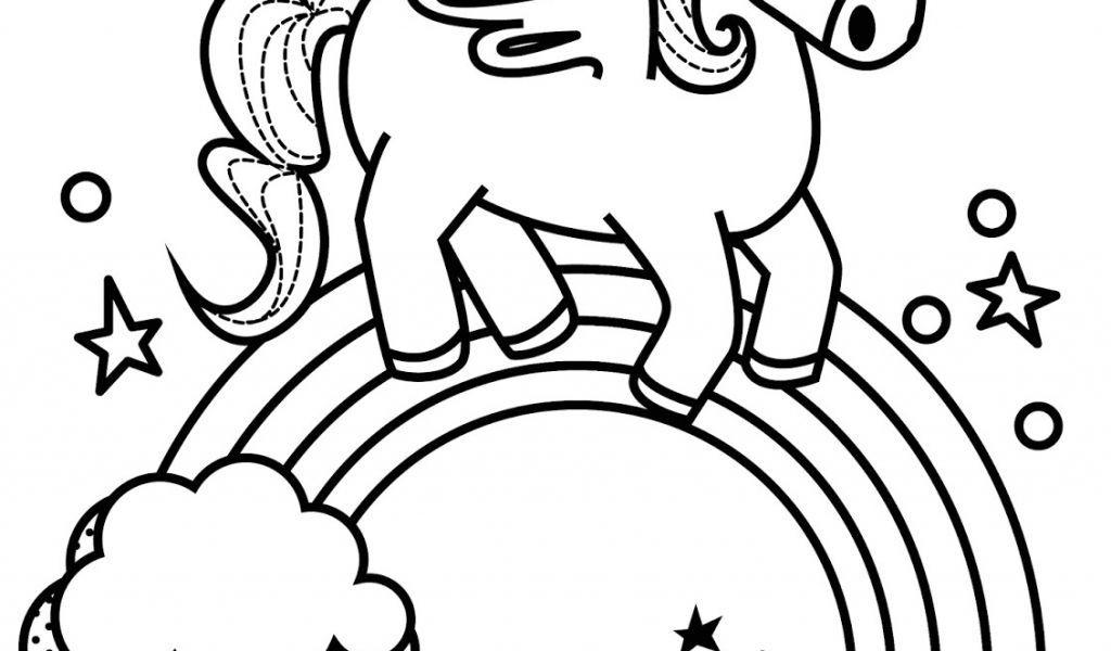 Coloriage Licorne Kawaii A Imprimer Coloriage Licorne