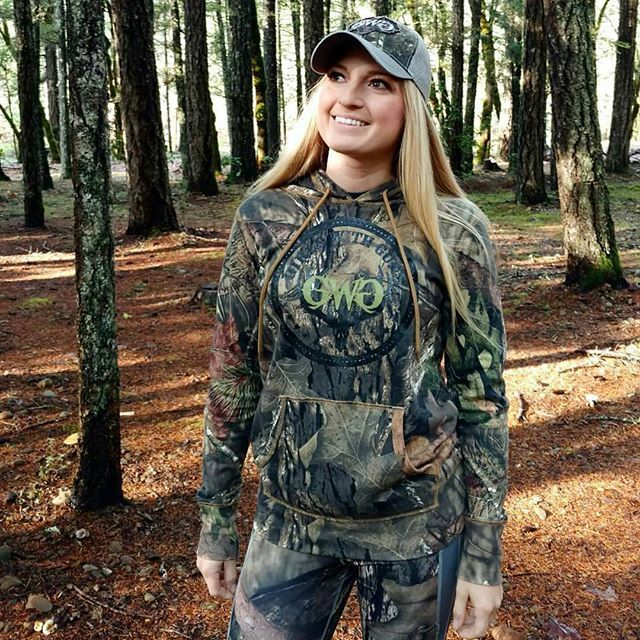 fc7c26f8d8e5f Girls hunt too! Mossy Oak women's hunting gear featuring TeamGWG Whitney  Vau. In addition to our Black Friday Blowout with discounts up to 85% off -  we're ...