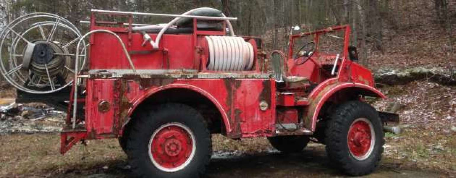 Highlands East Ontario 1942 Ford Fire Truck - #Antique #Vintage ...