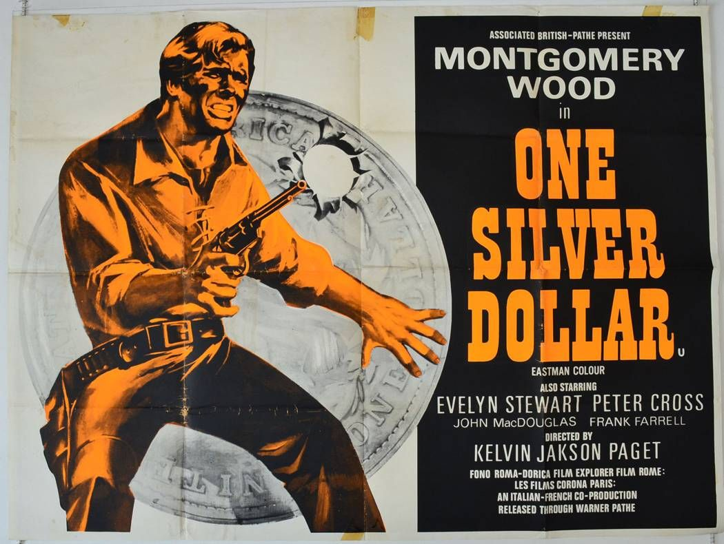 one silver dollar movie poster 1965 creator unknown