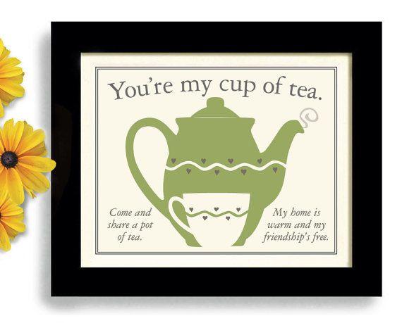 Teapot Kitchen Art Best Friend Tea Lover Gift Best Friend Gift on Etsy    35 00Teapot Kitchen Art Best Friend Tea Lover Gift Best Friend Gift on  . Great Kitchen Tea Gift Ideas. Home Design Ideas