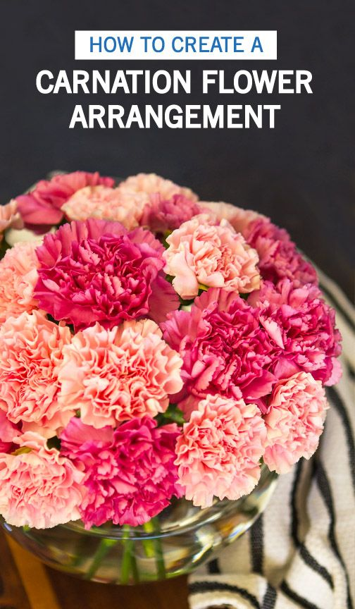 Freshen Up Your Home Just In Time For Valentine S Day With This Tutorial For How To Create A Carnation Flower A Carnation Flower Flowers Online Flower Delivery