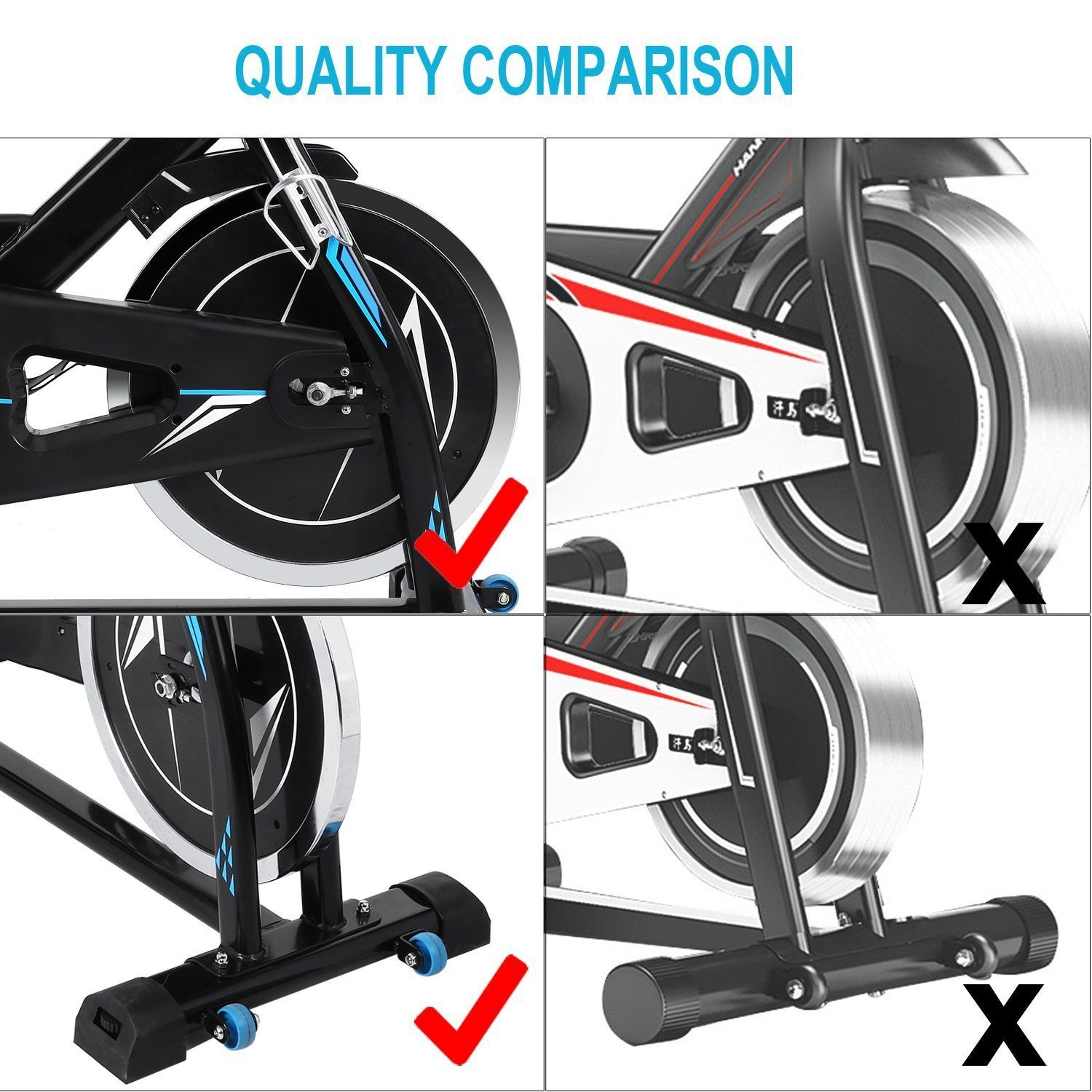 Vividy Indoor Stationary Cycling Bike With Lcd Monitor Home Exercise Cardio Bike Bicycle Spin Bike For Home Biking Workout Cycling Workout No Equipment Workout