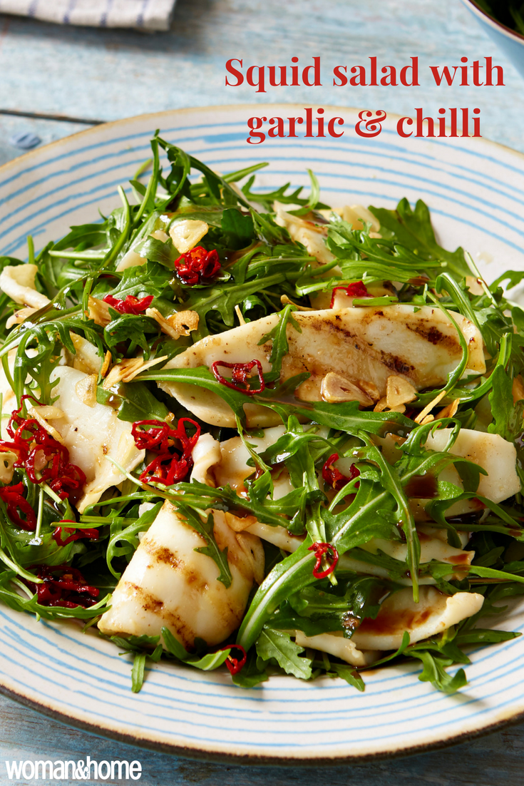 Squid Salad with Garlic and Chilli Recipe advise