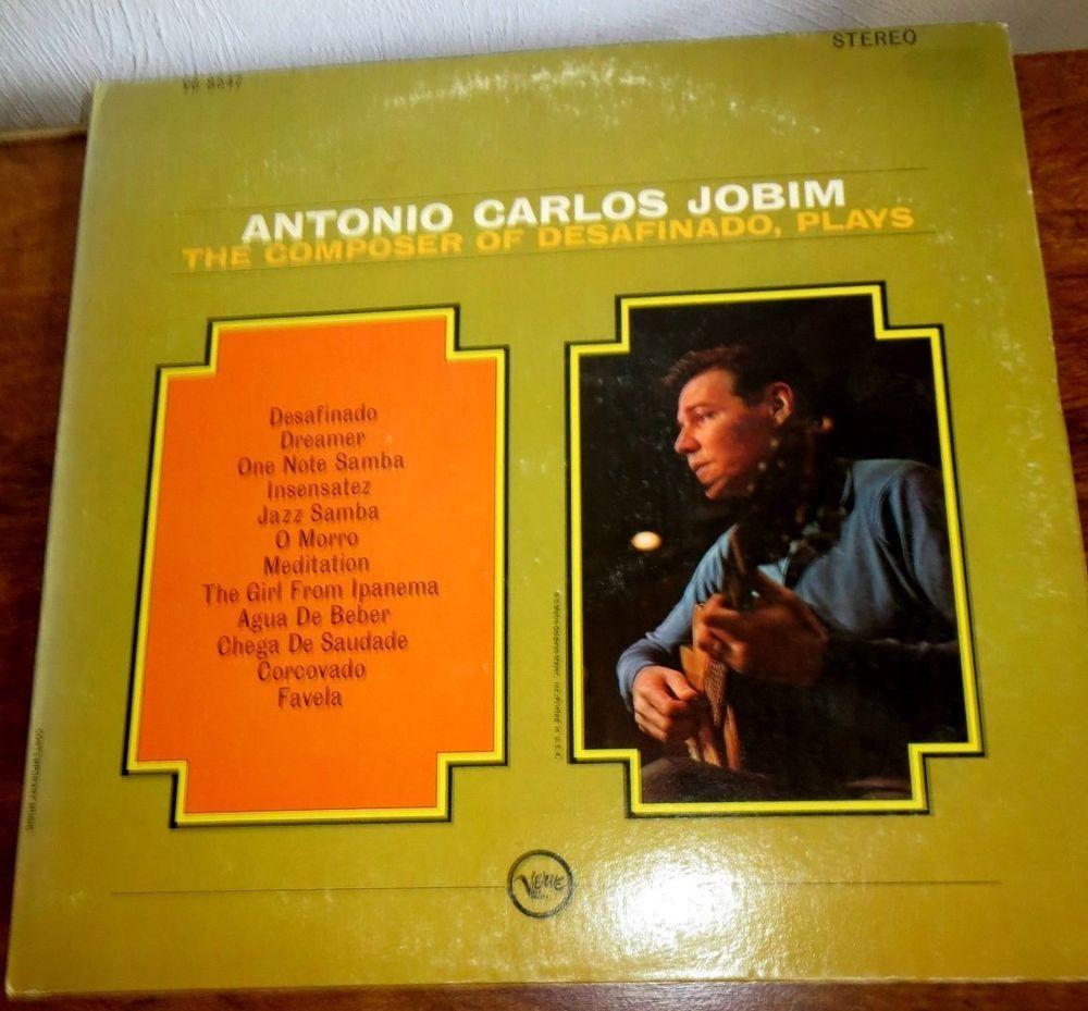 The Composer Of Desafinado Plays Antonio Carlos Jobim 1963