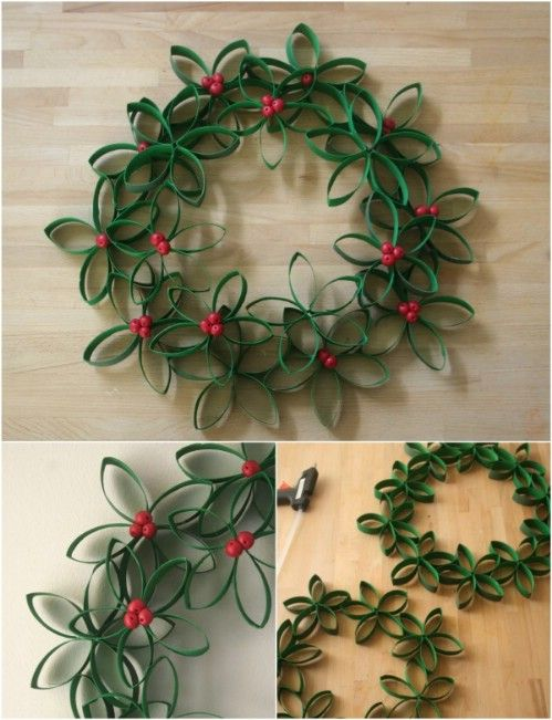 33 Festive Christmas Wreaths You Can Easily DIY - Page 2 of 3 - christmas wreath decorations