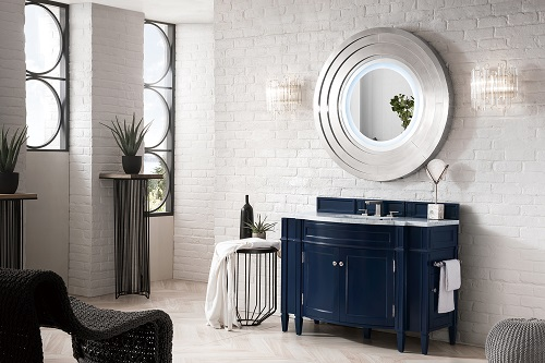 Classic Blue Bathroom Vanities A Trendy Yet Timeless Pick From Pantone In 2020 Single Bathroom Vanity Blue Bathroom Vanity Single Sink Bathroom Vanity