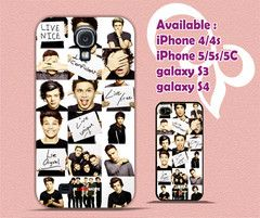 1d  together against bullying hf 4/4s,5/5s/5c, Samsung Galaxy s3/s4 Case