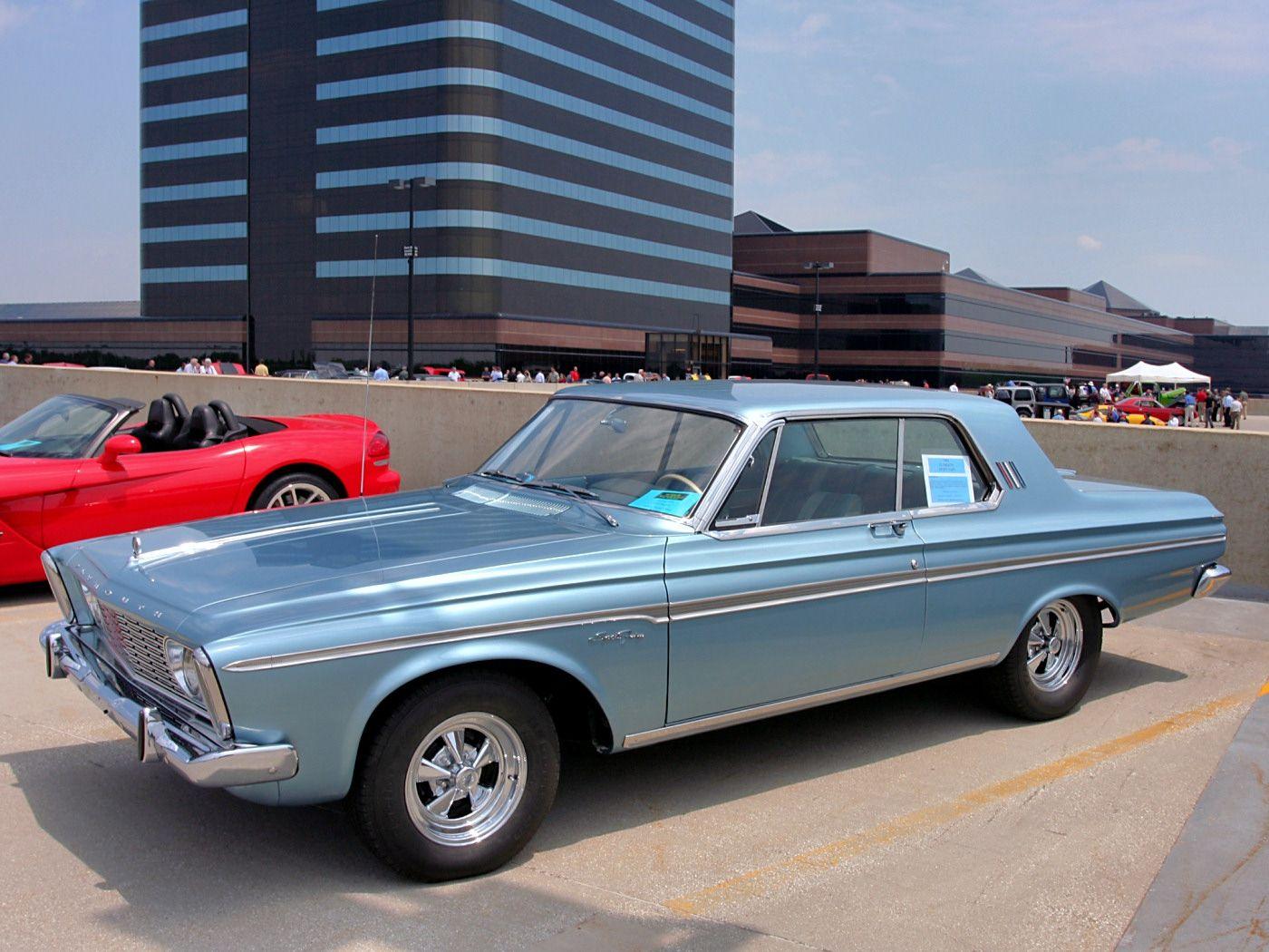 1963 Plymouth Sport Fury 2 Door Hardtop with Custom Wheels