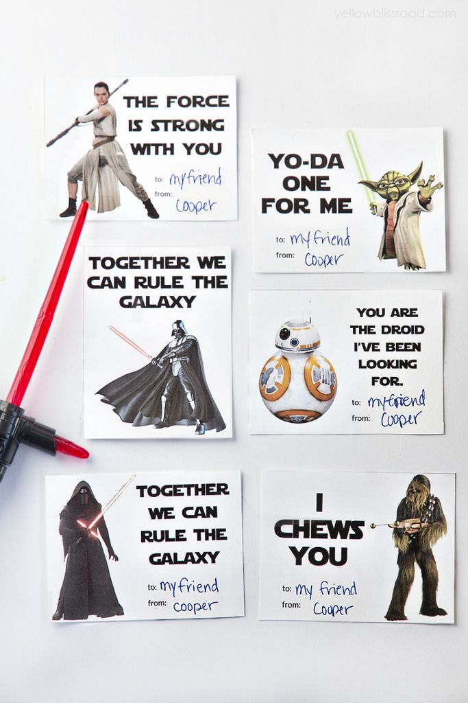 12 Of The Best Geeky Cool Printable Valentine's Cards