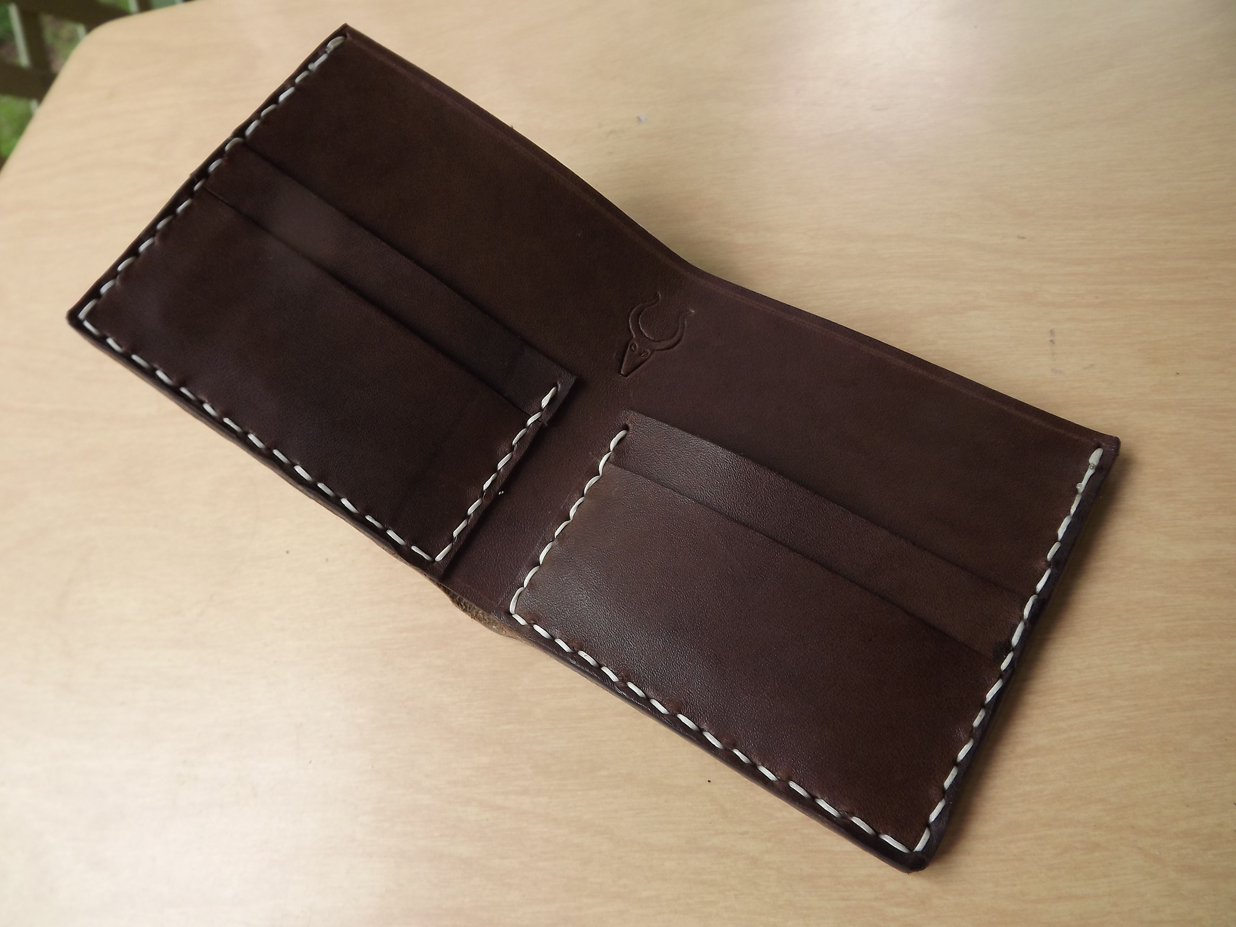 How To Make Your Own Leather Bifold Wallet Diy Leather