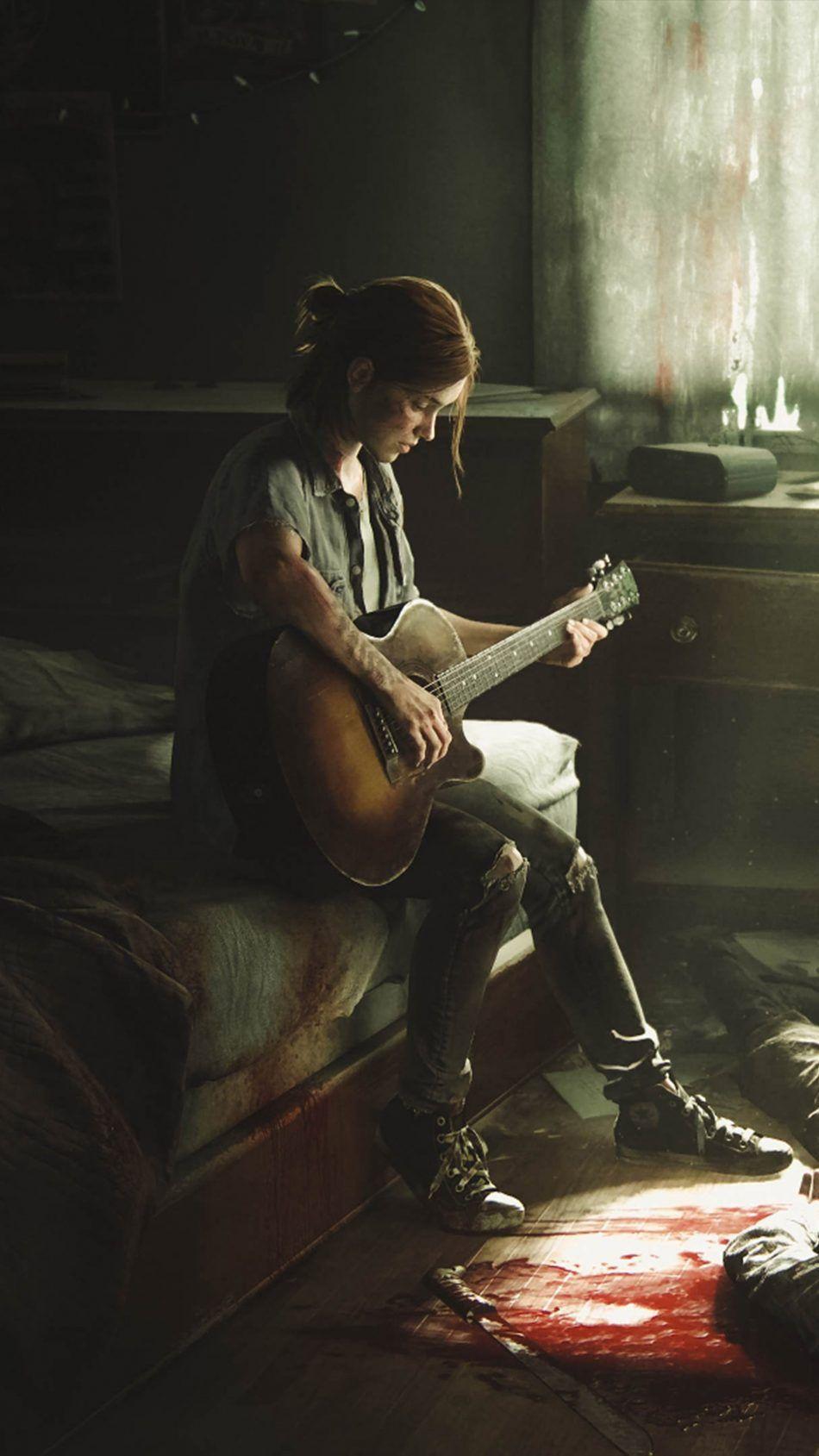 Ellie The Last Of Us Ii The Last Of Us2 Art Game Art