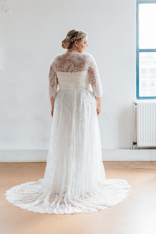 küssdiebraut Brautkleider in großen Größen