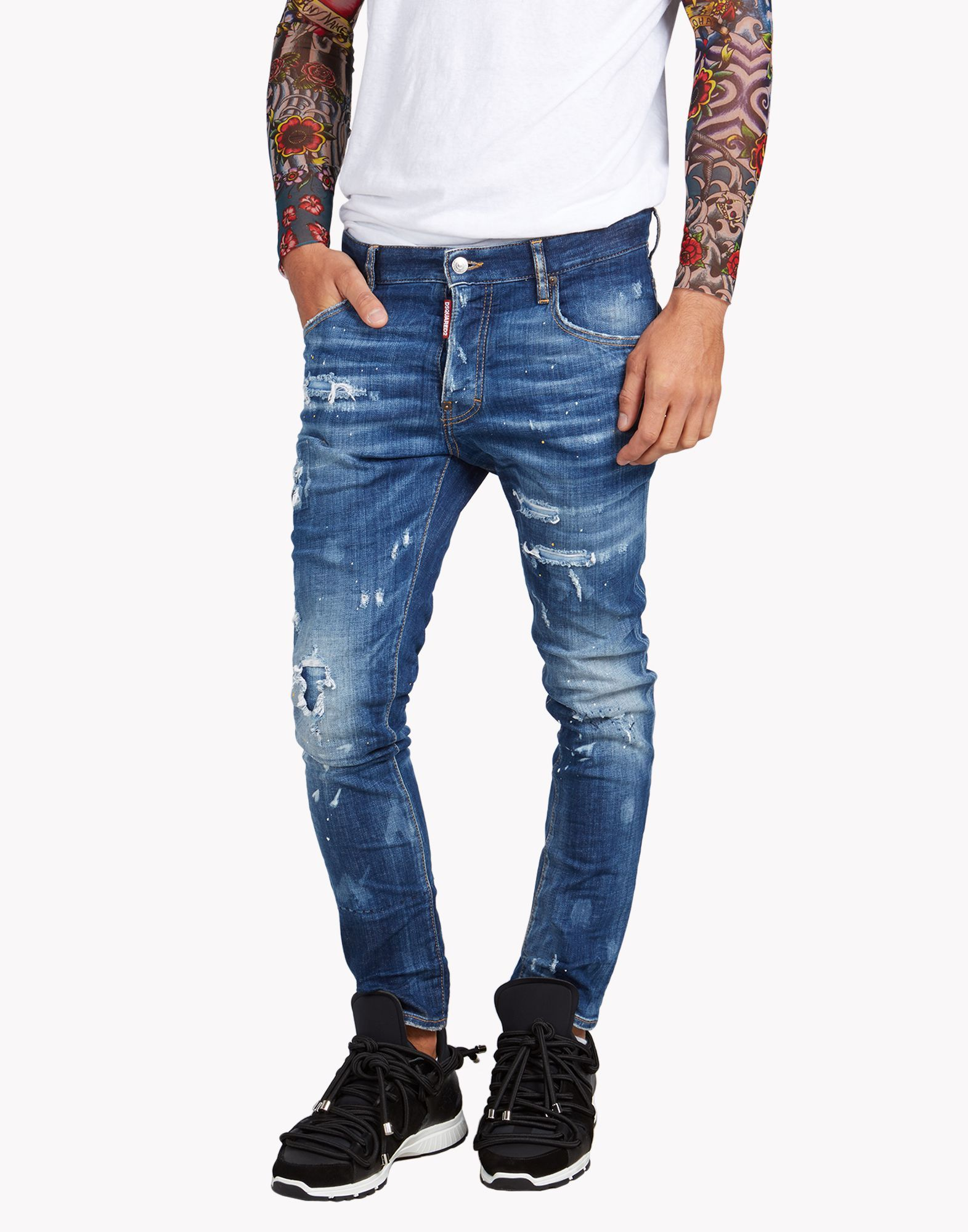 da1debc0 Dsquared2 Skater Jeans, 5 Pockets Men - Dsquared2 Online Store ...