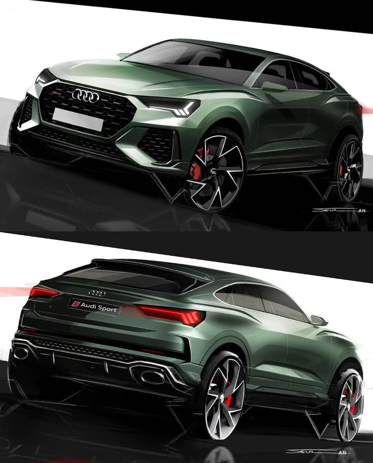 Here are design renders of the Audi RS Q3 Sportback, designed by Lori r...