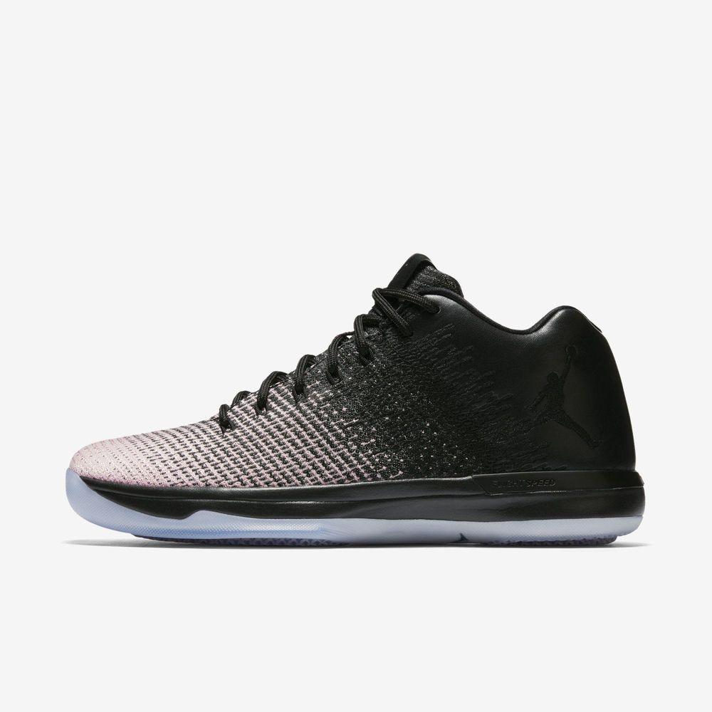 03c74a7926a Nike AIR JORDAN XXXI Low Mens Basketball Shoes 10 Black Grey Sheen 897564  001  Nike  BasketballShoes