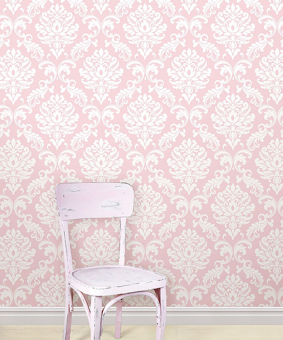 Loving This Pink Ariel Wallpaper Decal Roll On Zulily Zulilyfinds