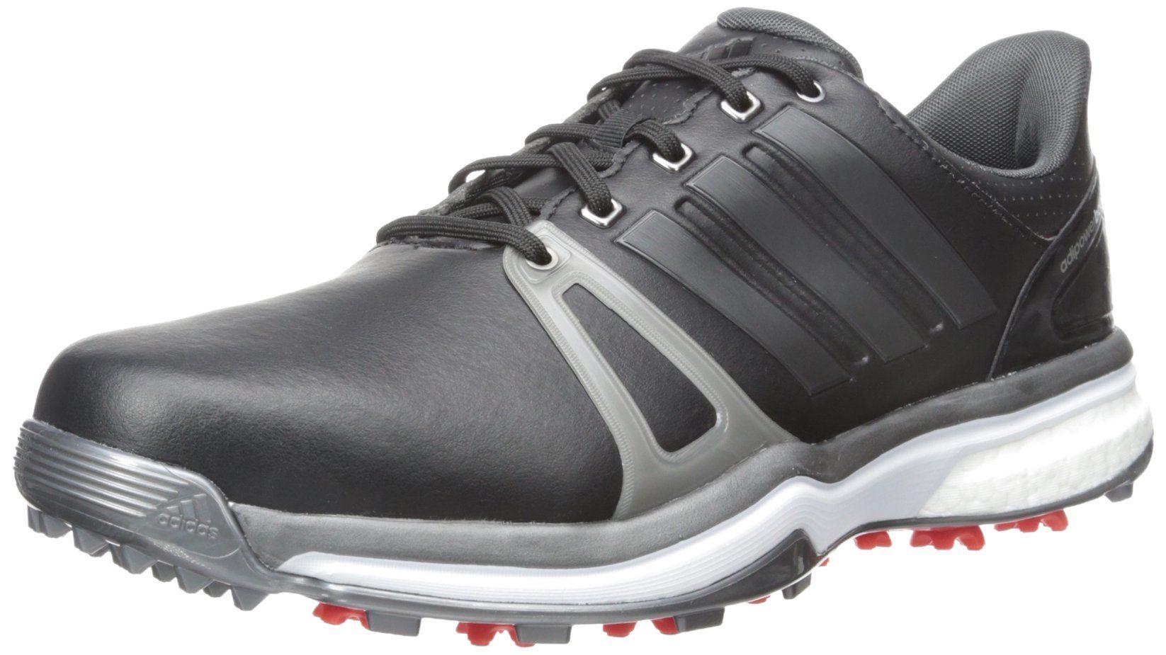 Adidas hombre 's Adipower Boost 2 WD Golf rastras, Core Negro / oscuro