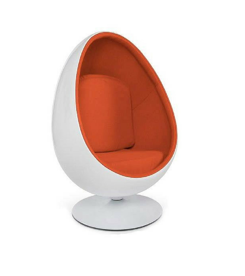 Egg Pod Chair Pod Chair Oversized Chair Living Room Blue