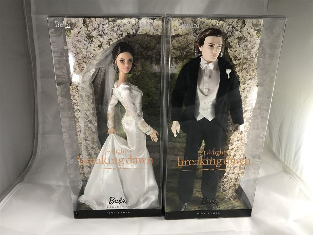 Barbie Pink Label Collector NEW Bella Twilight Saga Breaking Dawn Part 2 Doll